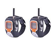 "RD-008 1.0"" LCD 0.5W 22CH 462.5625~462.7250MHz  Watch Style Walkie Talkie"