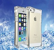 Clear Transparent Ice Cube Shape TPU Case for iPhone 5/5s