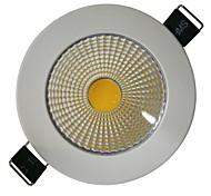 5W 1xCOB 450LM Branco 6000-6500K LED luzes de teto (AC 100-240V)