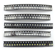 MaiTech 2.0 x 1.2mm 0805 SMD LED Light-emitting Diode Package (100 PCS)