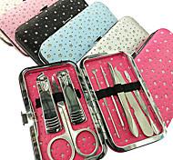 8PCS coupe-ongles Manucure Kits Dans Motif étoile Manucure sac (couleur aléatoire)