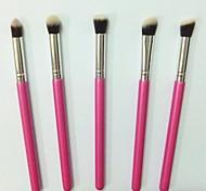 5 Set di pennelli Pennello di nylon Viso / Labbro / Occhi