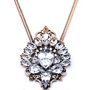 Clear / Coppery Vintage Necklaces Party / Daily Jewelry