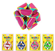 Roundness 2.5cm Plastic Magic Cube Puzzle 24 Parts Toy(Random Color)