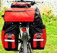 fjqxz Hinterradtasche Bike Bag 70l großen Kapazität wasserdichte rote 600D Polyester bike / Fahrradtasche