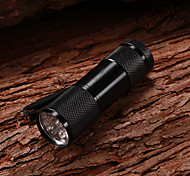 LED Flashlights / Handheld Flashlights LED 2 Mode 120 Lumens Waterproof / Rechargeable / Super Light / Compact Size / Small Size XP-G2 AAA