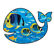 Whale Pattern Decorative Car Sticker