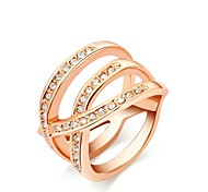 Personality X Style Top quality 18K White/Rose Gold Plated Make with Genuine Austria Crystal Fashion Jewelry