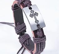 Z&X®  Fashion Cross Wax Rope Bracelet