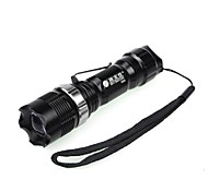 Shibaojia ® 3-Mode Cree R2 5W  Zoom Waterproof LED Flashlight Strike Beze Rechargeable