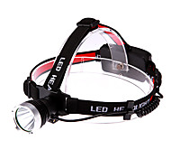 Cree XM-L T6 900LM 3-el modo de luz blanca de luz (1x18650/3xAAA)