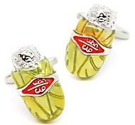 Beour Novelty Tobacco Modeling Cufflinks