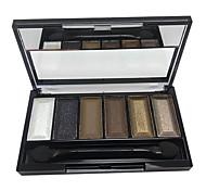 6 colores de maquillaje paleta de sombra (CY3207-01)