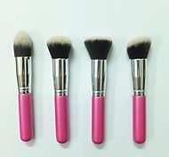 4Pcs High Quality Foundation Make-Up Brush Set