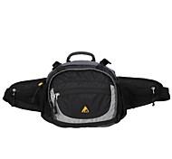 Waist Bag/Waistpack Camping & Hiking / Climbing / Leisure Sports / Traveling / Cycling/Bike Waterproof 5 L Red / Black Polyester / Tactel