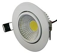 3W 1xCOB 280LM LED branco quente 3000K luzes de teto (AC 100-240V)