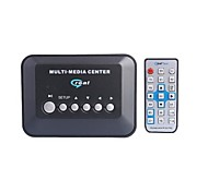 Audio and Video Plug-in MP5 Player Box - Black