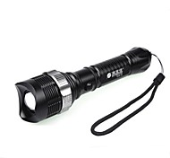 LED Flashlights / Handheld Flashlights LED 3 Mode 350 LumensAdjustable Focus / Waterproof / Rechargeable / Impact Resistant / Nonslip