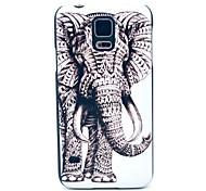 Elephant Stammes-Muster Hard Case für das Samsung Galaxy i9600 S5