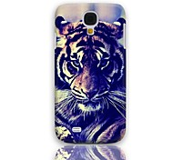 Tiger Eyeing Design Hard Case with 3-Pack Screen Protectors for Samsung Galaxy S4 mini I9190