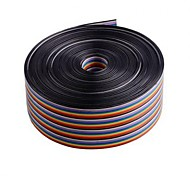 10m 40-pin Testing Ribbon Wire/Rainbow Cable