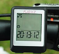 Bike Computer,FJQXZ Waterproof Wired LCD Black Bicycle Speedometer/Stopwatch