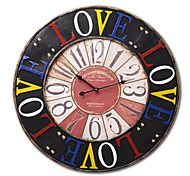 "26""H Retro Mechanical Style Wall Clock"