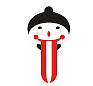 Long Tongue Baby Pattern Decorative Car Sticker