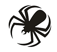 Black Spider Pattern Decorative Car Sticker