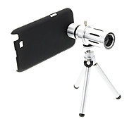 Zoom 12X Teleobiettivo cellulare in metallo con il treppiedi per Samsung Note2