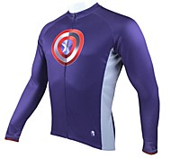 PaladinSport Men's Cycling Jersey Long sleeves Spring,Summer &Autumn Long Sleeved Cycling Jersey