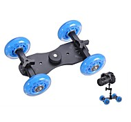 Professional Tabletop DSLR Camera Dolly Slider Skater Wheel Truck Stabilizer for 5D2 EOS Video