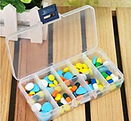 Simple Design Transparent Pill Box
