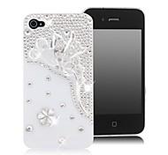 HOHONG (TM)-Schmetterling Bling Strass Case für iPhone 4 / 4S