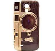 Retro Camera Pattern Plastic Protective Back Cover for Samsung Galaxy S4 I9500