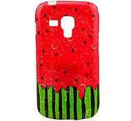 TPU Patrón Sandía Soft Case para Samsung Galaxy Tendencia Duos S7562/S7560
