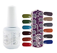 YeManNvYou®1PCS Sequins UV Color Gel Nail Polish No.289-300 Soak-off(15ml,Assorted Colors)
