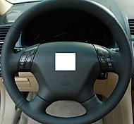 Xuji ™ черный кожаный руль крышка колеса для Honda Accord 7 2004-2007 Accord