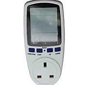 Uk Plug In Energy Meter Electricity Monitor Energy Saving Meter,Power Meter
