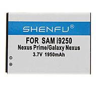 SHENFU 1950mAh Cellphone Battery for Samsung i9250 Nexus Prime/Galaxy Nexus