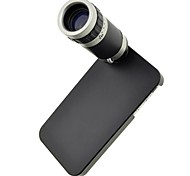 Optical 8X Zoom Telescope Lens Manual Focus with Hard Back Case for iPhone 4 /4S