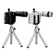 8X Telephoto Lens with Tripod and Clip for iPhone 5/5S (Assorted  Colors)