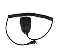 K11 profesionales de walkie talkie de micrófono en la mano del hombro del micrófono Micrófono de Mano