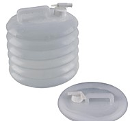 Accordion Jerrycan / Compression Bucket -Transparent (15L)