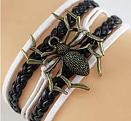 Classic Spider Shape Hand Alloy line Wrap(1 Pc)