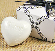 Wedding Gift Mini Heart Shape Soap 31g