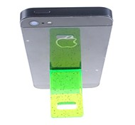 Compact Plastic Stand for iPhone  (Green)