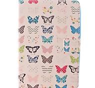 colore della carta di taglio piccolo caso di disegno della farfalla per ipad mini 3, Mini iPad 2, ipad mini