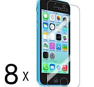 [8-Pack] premium de alta definición Protectores de pantalla Clear para iPhone 5C
