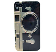 New Arrive Retrl Camera Pattern Hard Case  for iPhone 4/4s